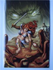 Red Sonja vs. Thulsa Doom #3 Conrad Virgin Variant